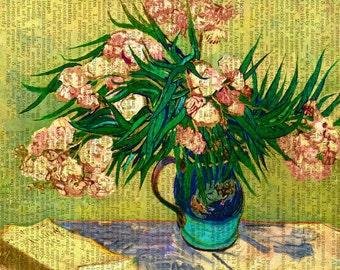 van Goghs Oleander print