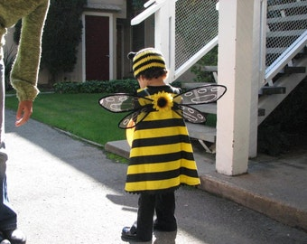 Handmade Bumble Bee Inspired Wings For Halloween Costume
