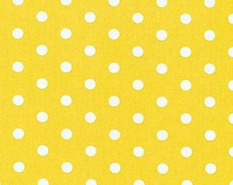 Robert Kaufman Pimatex dots in Yellow, yard