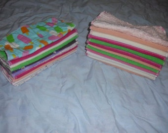 36-2 ply flannel wipes