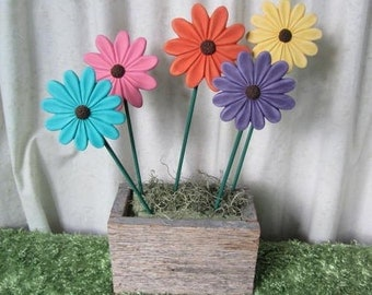 Ceramic Flowers - Flower picks