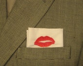 The Kiss Handkerchief  for Valentines Day 143S