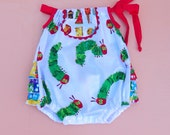 Very Hungry Caterpillar Bubble Romper