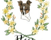 Custom Pet Portrait (Dog Sample)