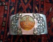 Cuff Bracelet,Victorian Jewelry, Victorian Bracelet, Steampunk Jewelry, Steampunk Bracelet, Steampunk Cuff,  Corona, Corona Cuff