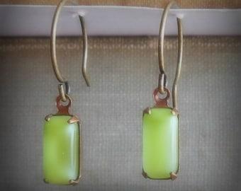 Dainty Tender Shoots Earrings for Spring