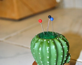 Mini Cactus Pin Cushion