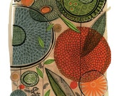 Haven No.2 - 11x14 GICLEE PRINT botanical collage, Susan Black