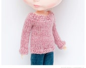 Rose Pink Sweater for Blythe