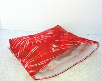 Eco Bag-Medium-Red & White Tie Dye (Eco 50-M)