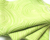 FREE OFFER Reusable ORGANIC Cloth Napkins - Set of 4- Let it Grow - Green