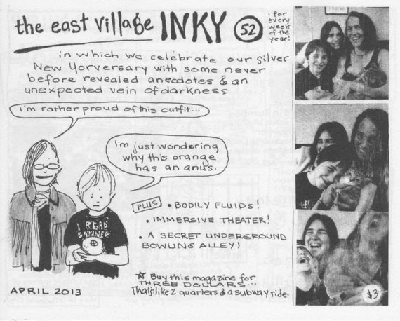 East Village Inky, Issue No. 52