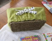 Book Basket for Toddler Boy or Girl with Board Books