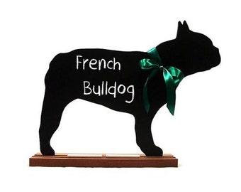 French Bulldog Chalkboard, Bulldog Chalkboard, Bull Terrier Chalkboard or Bull Mastiff Chalkboard - Blackboard - A Pet Lover Favorite