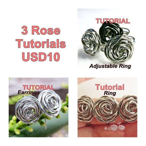 Wire wrapped roses by Wirebliss