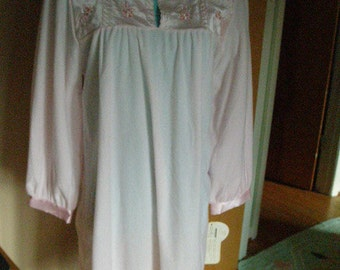 SALE-SALE Vintage Ilise Stevens Soft Pink Nightgown New with Original Tags
