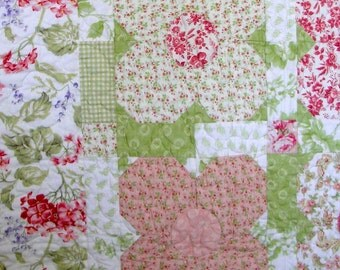Large Lap Quilt--Free Shipping