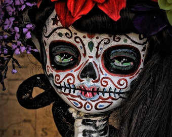 Dia De Los Muertos Doll Canon PRINT 355 from Photo/Doll by Michael Brown/UC Studios