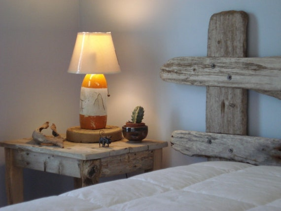 """1 Pair of Driftwood Night Tables  (20"""" X 25"""" X 29""""H)"""