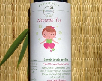Namaste Herbal Tea, Tisane, Tea in Tin, Gift Tea, Loose Tea, Caffeine Free, Sugar Free, Herbal Tea, Yoga