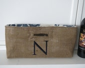 Not Your Usual Wine Bag Monogram with Toile Lining