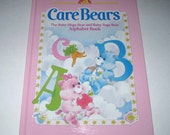 Care Bears The Baby Hugs Bear and Baby Tugs Bear Alphabet Book Vintage 1980s Children's Book