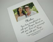 Mother You have strengthened me 8 X 10 Picture Photo Mat Design M95
