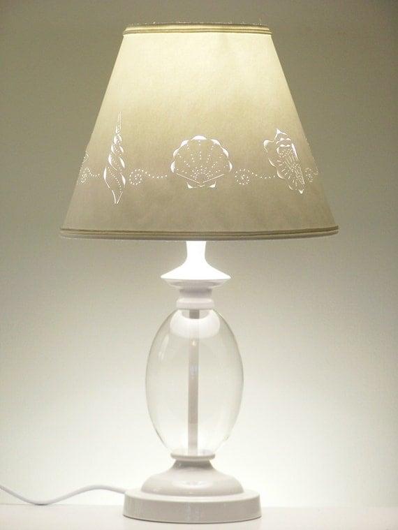 Fillable Sea Shell Lamp