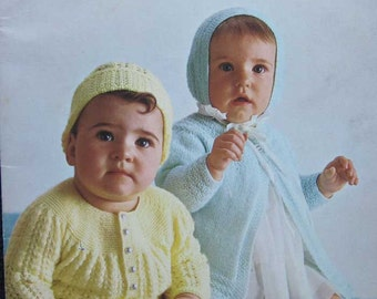 Patons Beehive Knitting Baby Styles Pattern Book 117