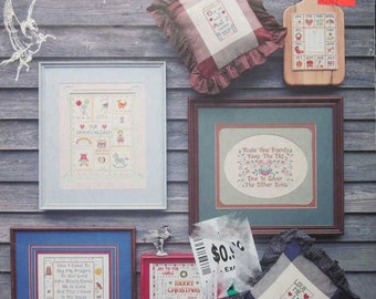 Charted Cross Stitch Sampling Samplers 2 Pattern Book