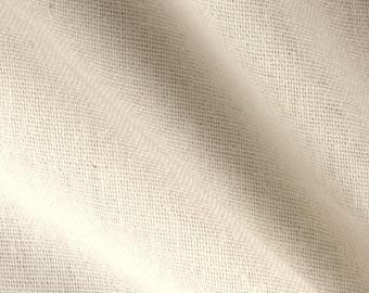 White Osnaburg Fabric  | Osnaburg Material White | 1 Yard