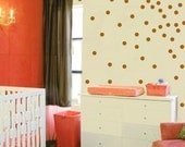 Polka Dot Wall Sticker Decal - Confetti Circles Wall Decal - Vinyl Polka Dots - Modern Nursery - CN121