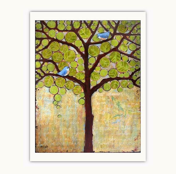 Boughs in Leaf Tree 8X10 Print