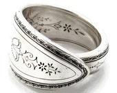 Spoon Ring Size 3 to 15 Argosy Art Deco
