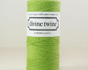 Divine Twine Solid Green