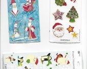 3 Different Christmas Stickers from stickeroni from Hallmark