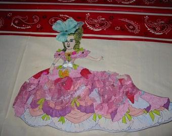 Valentine Marie Antoinette paper doll