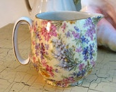 Lord Nelson Ware Chintz Heather 20 Oz Creamer Pitcher England