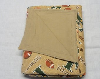 Football Flannel Blanket