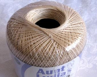 Aunt Lydias Classic Crochet Cotton Thread,  ECRU, size 10 thread