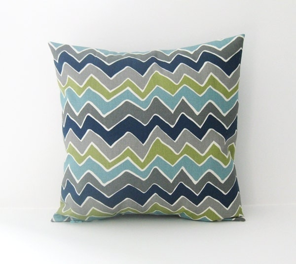 Throw Pillow Cover Measurements : Chevron Pillow Cover Decorative Pillow Accent Pillow Size