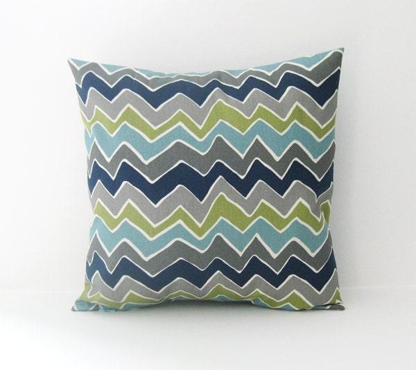 Chevron Pillow Cover Decorative Pillow Accent Pillow Size