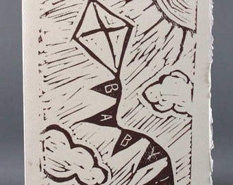 Baby Kite Card