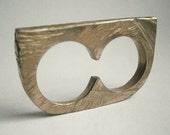 double ring -bronze- unisex