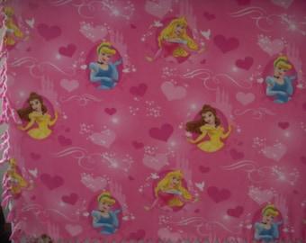 Disney Princess NoSew Fleece Blanket