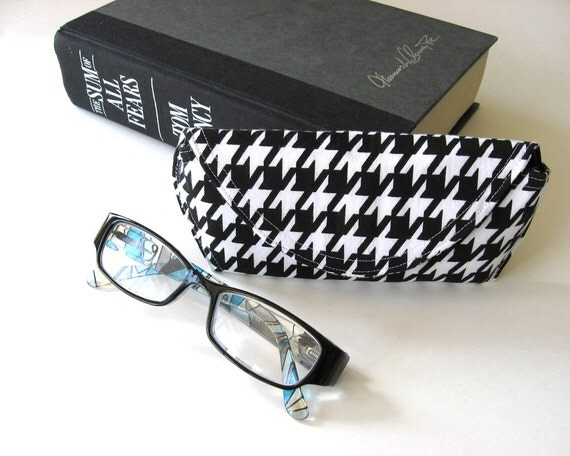 houndstooth reading glasses ready to ship by studiocherie