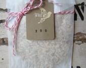 Vintage Wedding Paper Bird Confetti