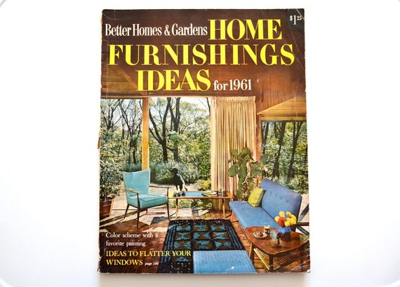 Better Homes And Gardens Home Furnishings Ideas For 1961 Mid