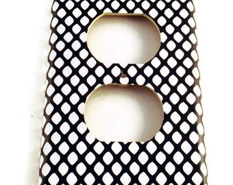 Light Switch Cover Wall Decor Switchplate Outlet Switch Plate in  Fishnet (087O)