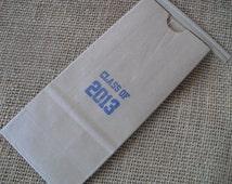 Graduation Favor Bags Kraft Paper Coffee bags Cookie Bags Great For Desert Bar - Set of 10 - Item TT1533